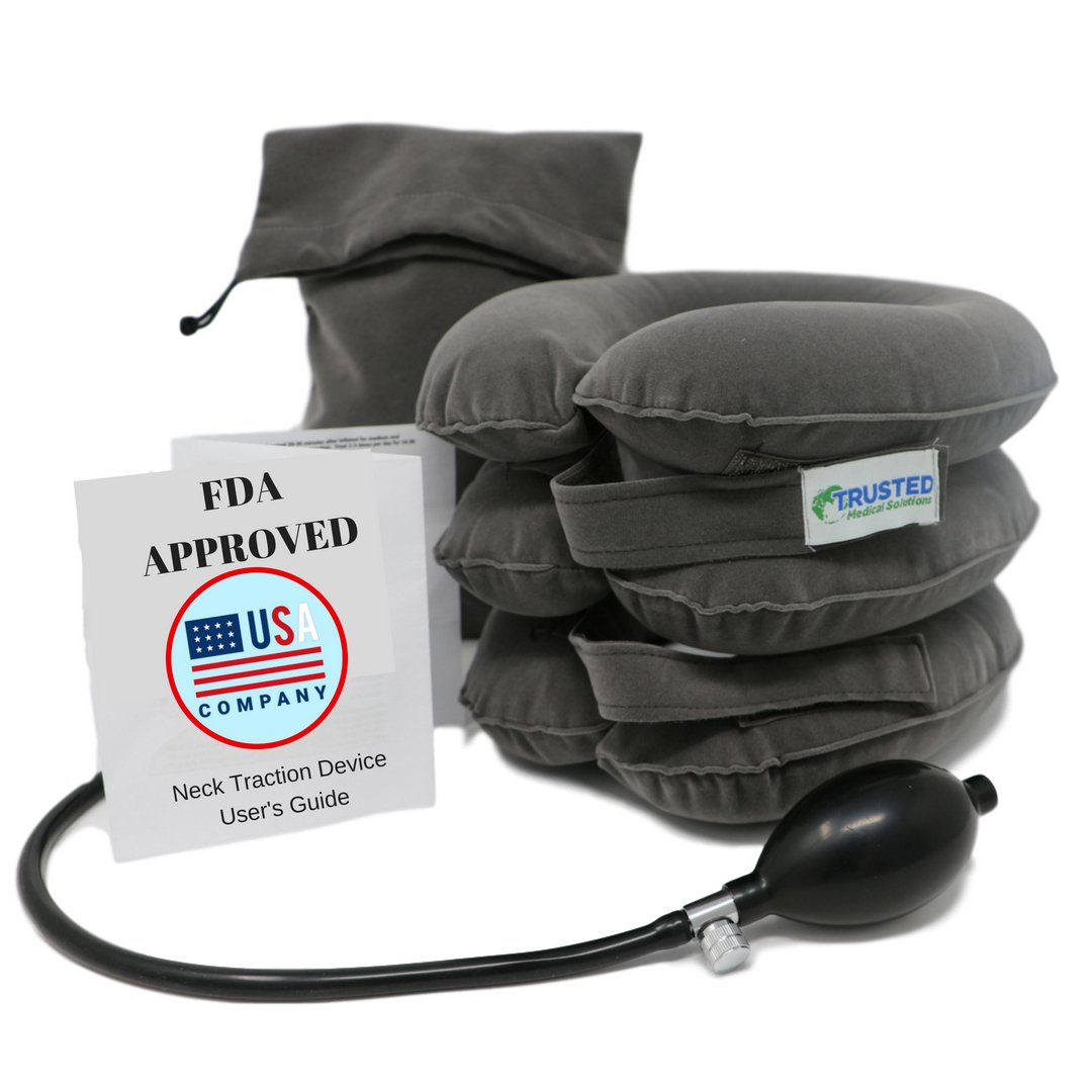 trusted cervical neck traction device fda approved one size fits