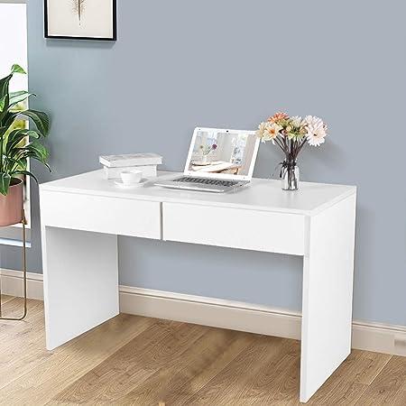 Marrone EBTOOLS Scrivania per Computer Pieghevole,Tavolo per Computer Portatile in Legno,Compatto Robusto Scrivania,80x45x74cm