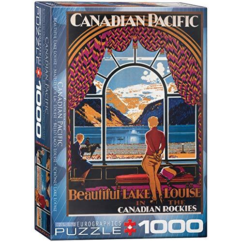 EuroGraphics CP Rail Beautiful Lake Louise 1000 Piece Puzzle