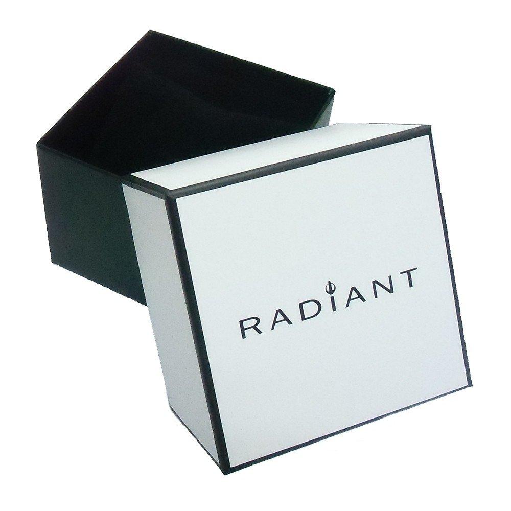 Amazon.com: RADIANT watch NICKEL FREE RA400603 Man Black Silicone Chronograph: Watches
