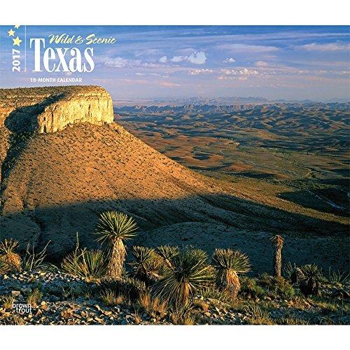 Wild & Scenic Texas 2017 Deluxe Wall Calendar