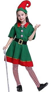 Amazon.com: Youngland duende de la Navidad Tutu vestido de ...