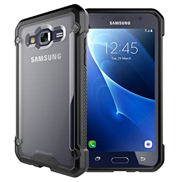 info for 35848 03f98 TECHGEAR Galaxy J3 2016 Case - [Fusion Armour] Premium Slim Hybrid Tough  Rugged Protective Bumper Case Heavy Duty Protection Cover Compatible with  ...