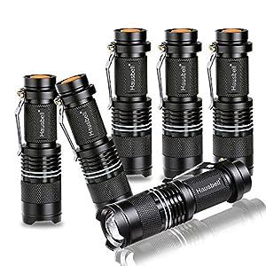 Hausbell 7W Mini LED Flashlight (6 Pack)