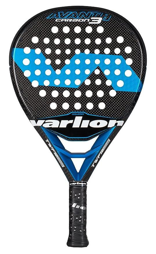 Varlion Avant H Carbon 3 - Pala de pádel, Unisex Adulto, Azul, 375