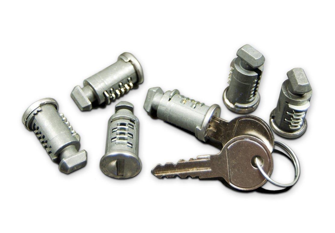 RockyMounts Lock Core 6 Pack for RockyMounts Car Racks
