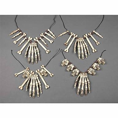 Skulls & Cross Bones Necklaces Halloween Jewellery for Fancy Dress Costumes Accessories Accessory e5cA6A