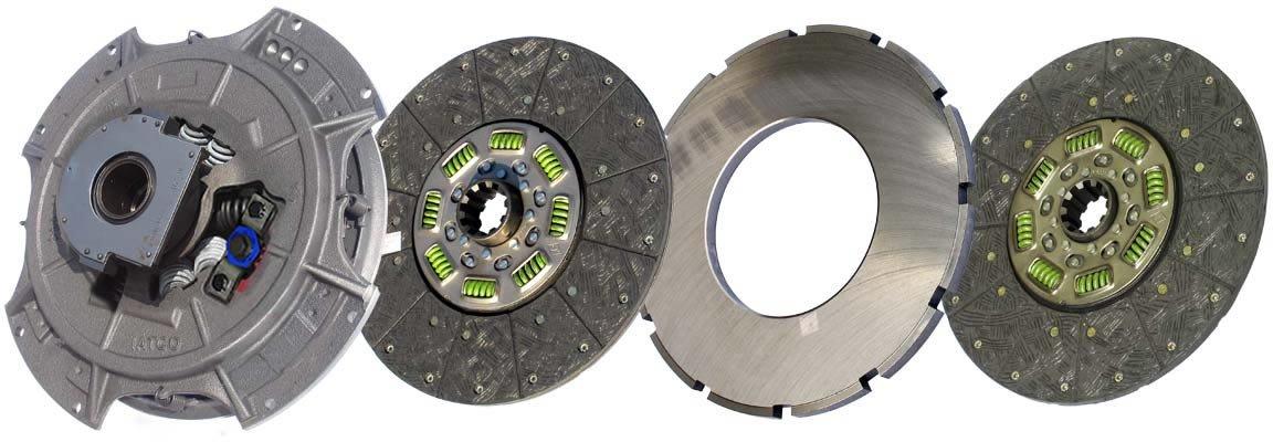 IATCO 108034-82-IAT 14'' x 2'' Easy Clutch Pedal (Two-Plate, Organic / 8-Spring, 3600 Plate Load / 1100 Torque) by IATCO