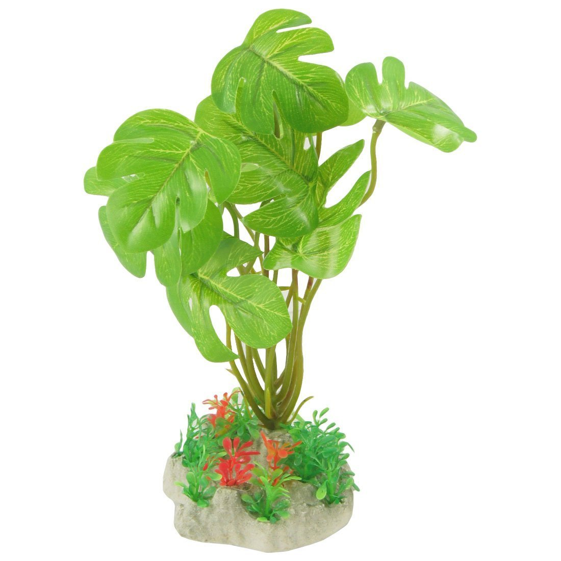1Pc Plastic Fish Tank Emulational Aquarium Plant Aquatic Grass Ornament