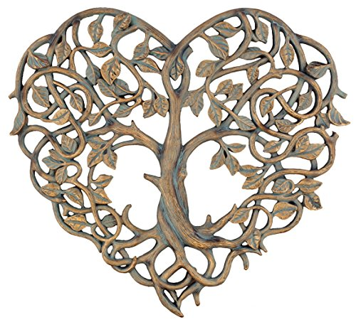- Old River Outdoors Tree of Life/Heart Wall Plaque 12
