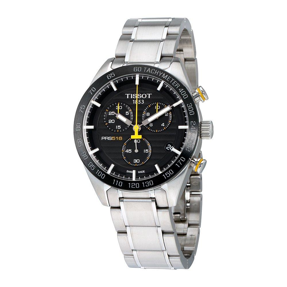 TISSOT PRS 516 Quartz Chronograph T100.417.11.051.00 by Tissot