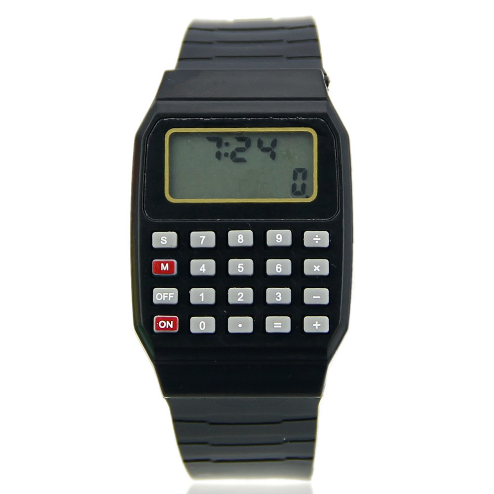 Cute Children Silicone Calculator Watch