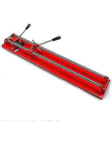 tcatec Cortador de baldosas con accionamiento mano doble azulejos Schneider mármol resistente – Rojo