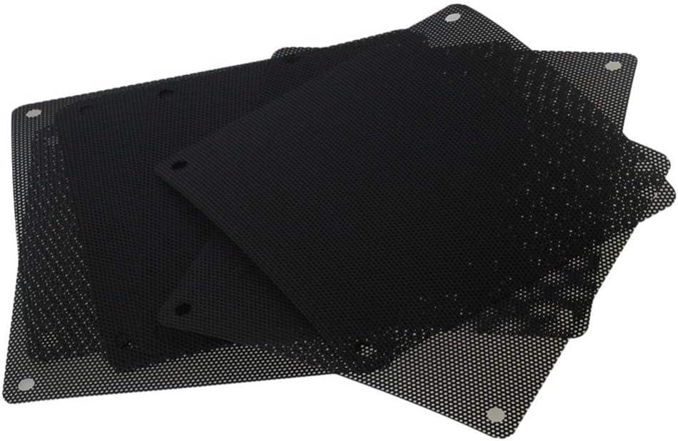 WINOMO 10pcs PC Cooler Fan Dust Filter Mesh Grill Dustproof Case Cover 120mm Black