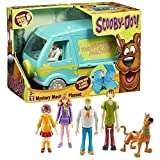 Scooby Doo Deluxe Mystery Machine & 5 Figure Solving Crew Playset by Character Options