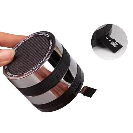 Guizen Mini Bluetooth speaker altavoz portatil con Radio , Microfono y lector de tarjeta de memoria,Potente ...