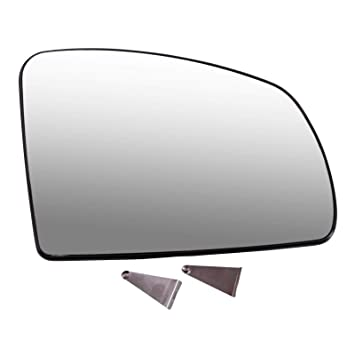 Spiegelglas Au/ßenspiegel Aussenspiegel Spiegel rechts konvex beheizbar