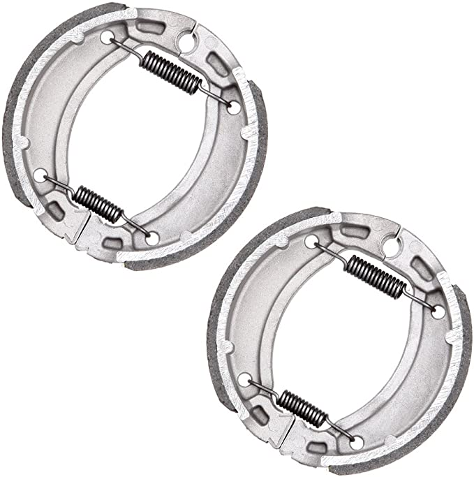 shamofeng Rear Brake Shoes For Yamaha Grizzly 80&125 Breeze 125 ...