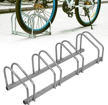 SAILUN Bicicleta Soporte para 4 Bicicletas de Suelo y Pared ...