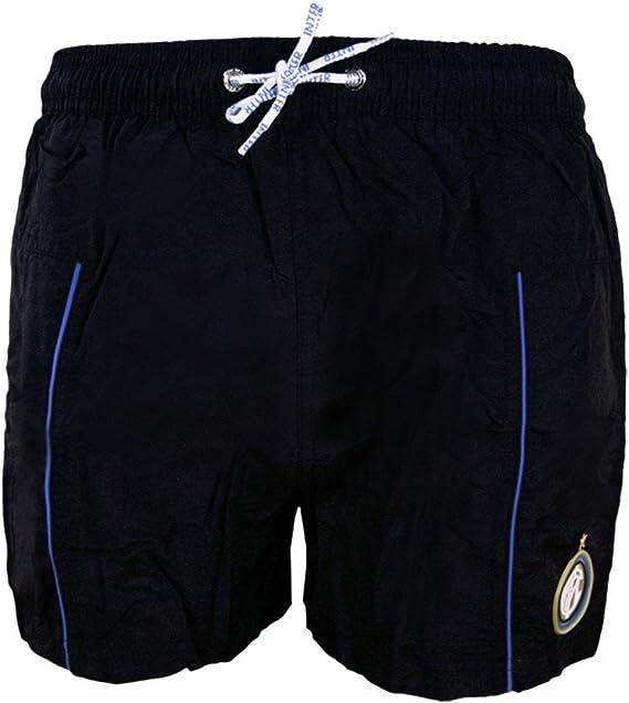 PASSIONECALCIOSHOP Costume da Bagno Boxer Mare Piscina FC Internazionale Inter Prodotto Ufficiale Bambino Ragazzo Pantaloncini Pantaloncino
