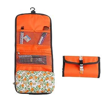 Amazon.com   Floral Travel Toiletry Bag 58ef146b6f99f