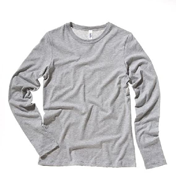 85c0f792baae Image Unavailable. Image not available for. Color: Bella Ladies Long Sleeve  Crew Neck Jersey T-Shirt. 6500 ...