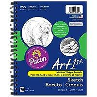 "Pacon 4794 Art1st Sketch Diary, 8.5 ""x 11"", 70 hojas"
