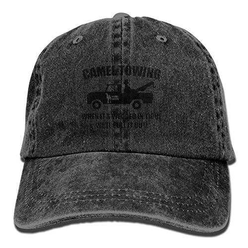 Camel Towing Cotton Adjustable Denim Hat Baseball Caps for Adult
