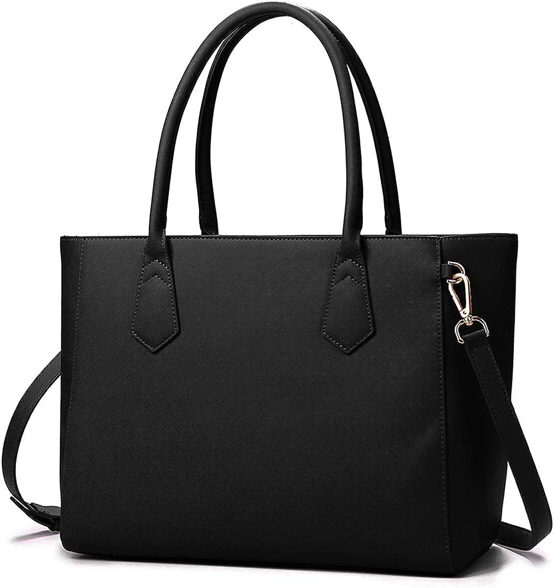 Brenice Women Leather Messenger Crossbody Handbag Shopper Shoulder Travel Bag
