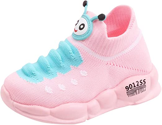 Kstare Baby Shoes Cartoon Walking Slippers Sport Mesh Run Casual Shoe Mesh Crib Infant Toddler Sneakers