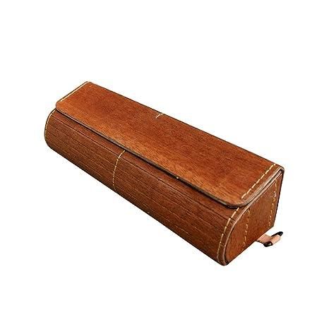 Amazon.com: Prow - Estuche para gafas de madera natural ...