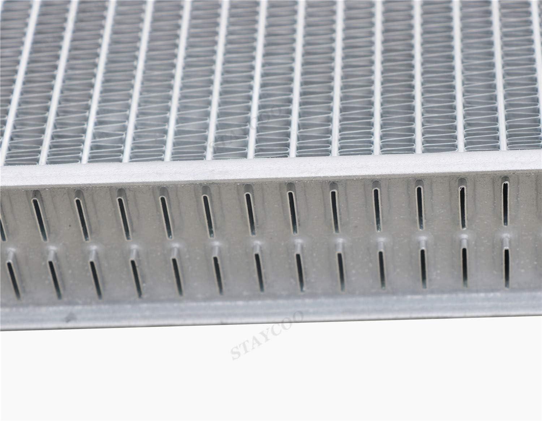 STAYCOO 2 Row All Aluminum Radiator for Suzuki Sierra//Jimny//Samurai//JA51 SJ 413//SJ413 G13 1981-96