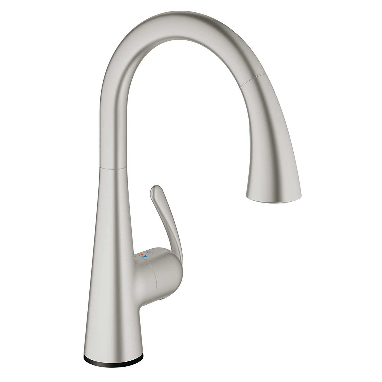 Ladylux Touch Electronic Single handle With Pull-out Dual Spray, 30205DC1 - Super Steel