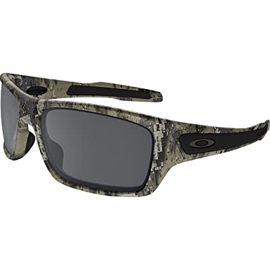e63fb2802 Oakley Men's Turbine OO9263 Rectangular Sunglasses