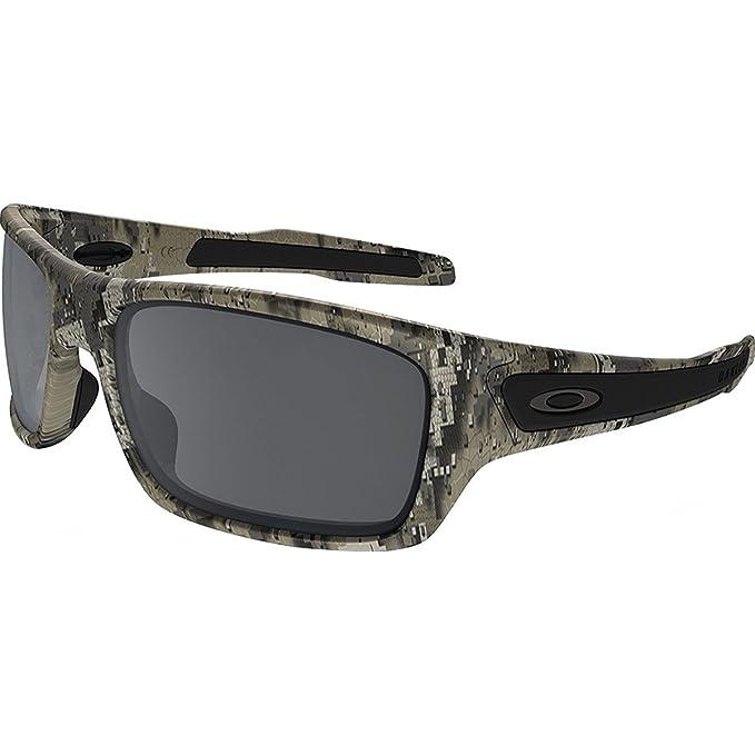 f7c2772e07 Oakley Men s Turbine Non-Polarized Iridium Rectangular Sunglasses ...