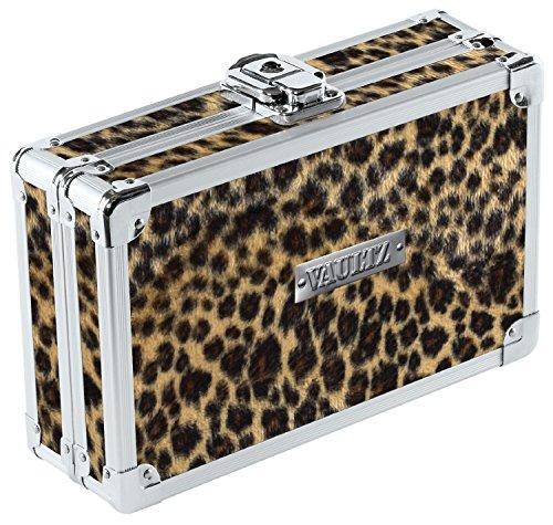 Ideastream Vaultz Cash Box (Vaultz Locking Pencil Box,Cheetah)