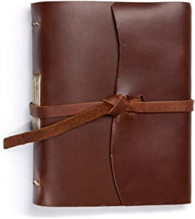 product image for Rustico Leather Good Book w/Wrap Saddle
