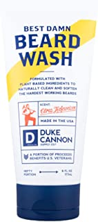 product image for Duke Cannon Best Beard Wash, 6 Ounce/Made with Natural and Organic Ingredients
