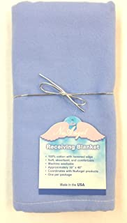 product image for NuAngel Flannel Receiving Blanket - Periwinkle Blue