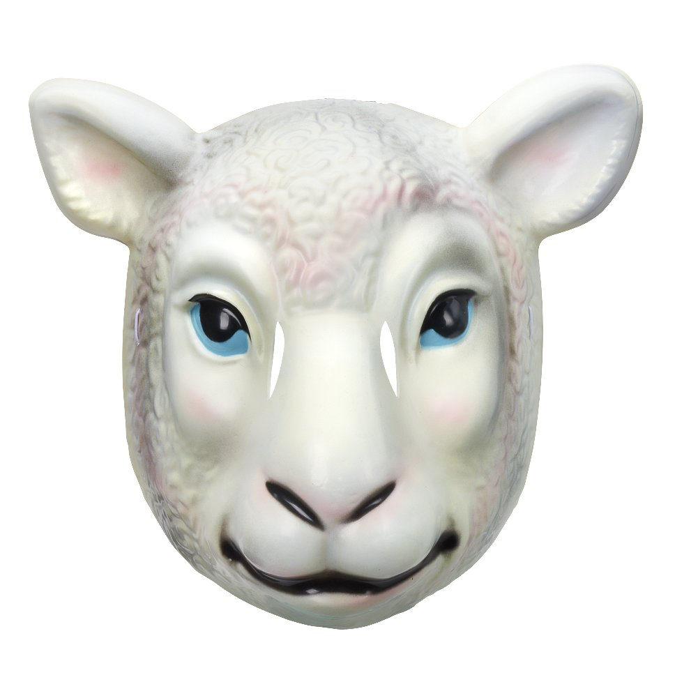 Wyatt Family Sheep Plastic Halloween Party WWE Mask by WWE Authentic