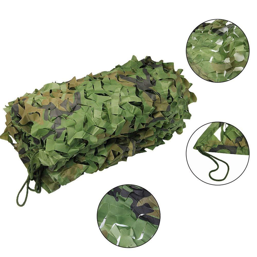 3x6m YNFNGXU Le Tissu Oxford de Camouflage de Chambre à Coucher est très approprié à la Photographie de tir de Camping de Tente d'ombre 2x3m (Taille   4x6m)