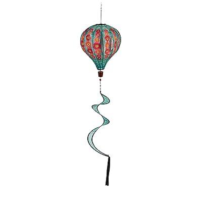 Evergreen Flag Gerber Daisies Balloon Spinner - 15 x 15 x 55 Inches : Garden & Outdoor