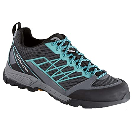 Scarpa Schuhe Epic Lite OD Women Größe 39,5 dark gray/aqua