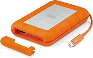LaCie Rugged Thunderbolt USB 3.0 2TB External Hard Drive Portable HDD (STEV2000400)