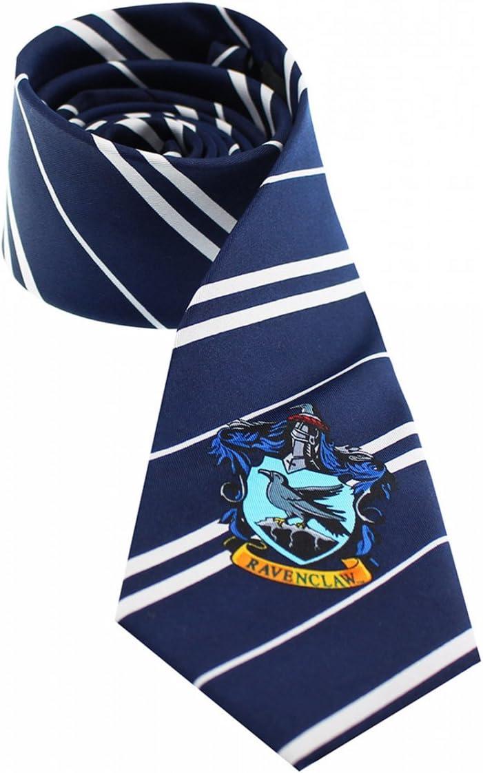 Harry Potter Ravenclaw corbata con casa Escudo Disfraz Accesorio ...