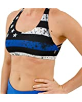 Born Primitive Thin Blue Line Vitality Sports Bra