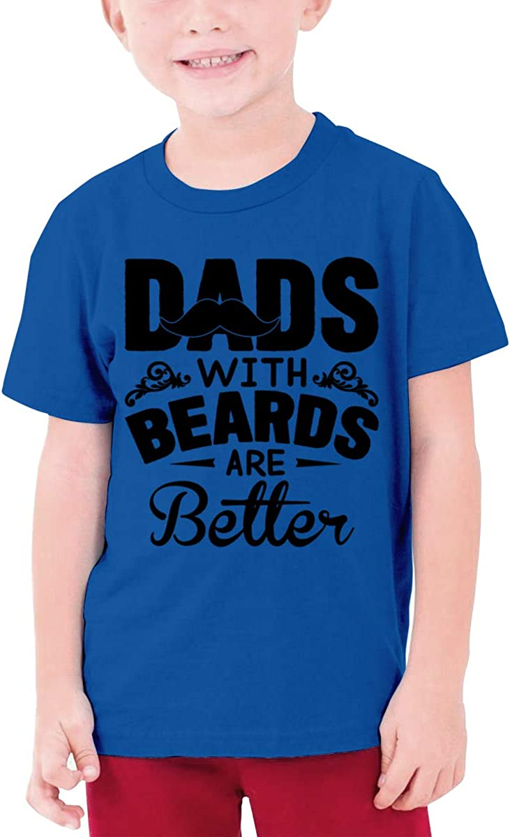 Dads with Beards are Better Boy Short-Sleeve T-Shirt