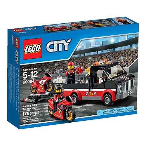 (LEGO City Great Vehicles Racing Bike Transporter)