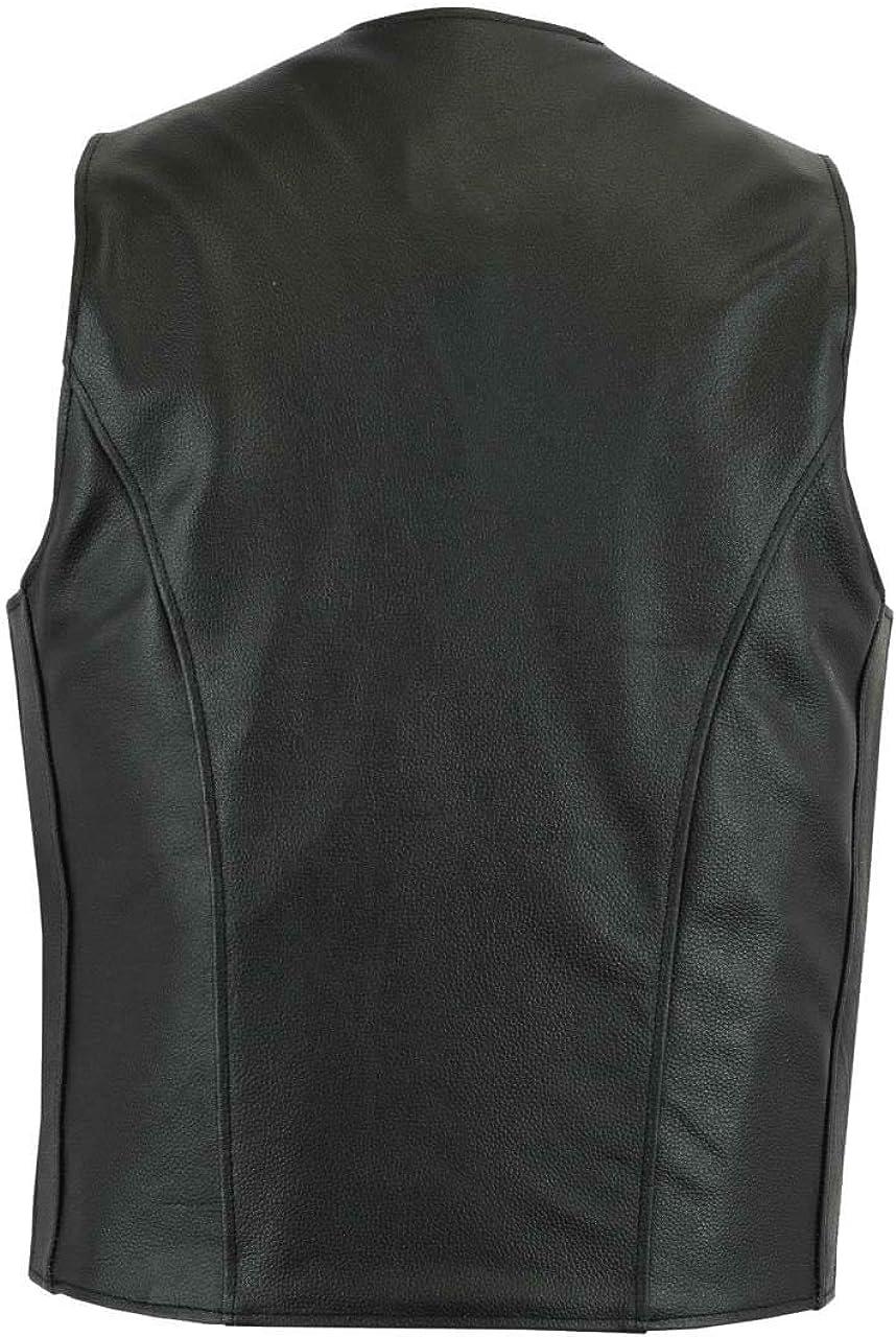 Classyak Mens Fashion Real Leather Stylish Vest