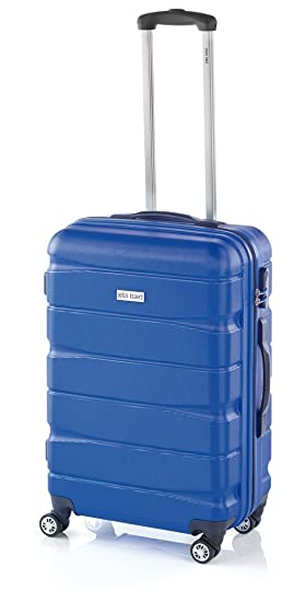 Doulbe2 de JohnTravel, maleta mediana 60 cm, ABS (Azul): Amazon.es: Equipaje